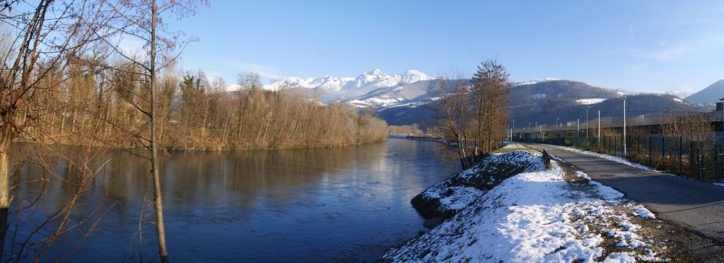 Isere river